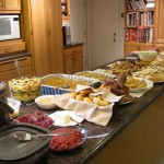 Thanksgiving Dinner- food is a need you need to secure.